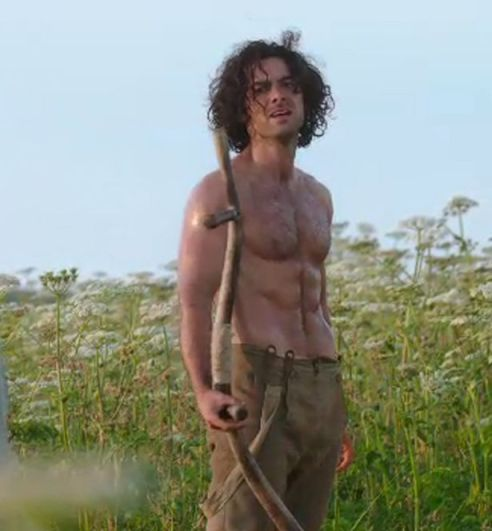 Aiden-Turner-as-Poldark-doing-some-gentle-weeding